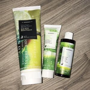 Korres Beauty Bundle-All NEW/NEVER USED
